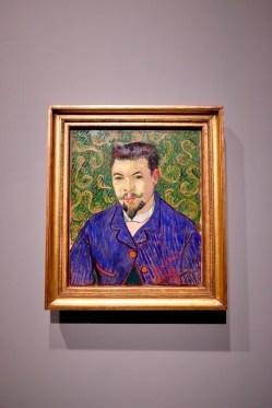 Portrait of Dr. Felix Rey by Van Gogh Photo: Olivia Deng