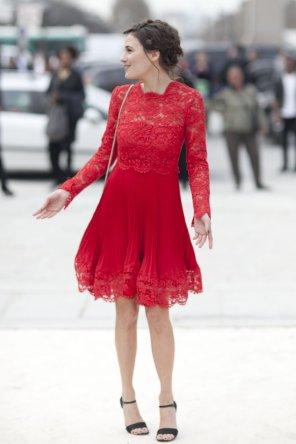 fiery-red-lace-dress
