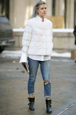 white-shirt-inside-fur-coat