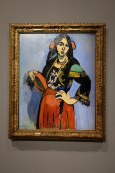 Spanish Woman with Tambourine by Matisse Photo: Olivia Deng