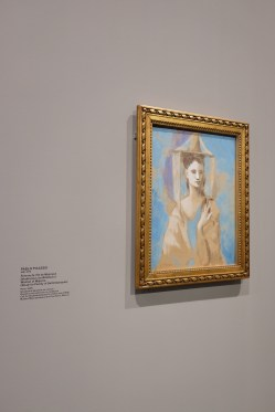 Spanish Woman of Majorca by Picasso Photo: Olivia Deng