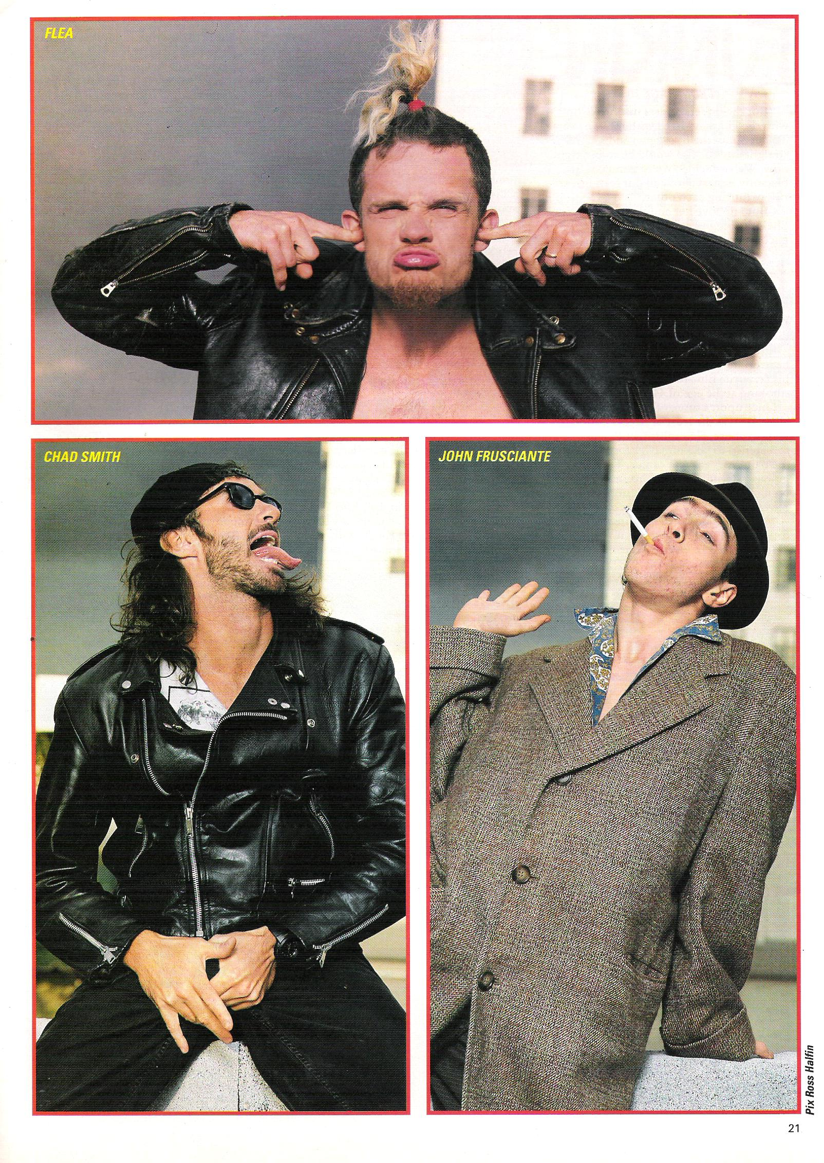 061990 Kerrang 292 Red Hot Chili Peppers Fansite