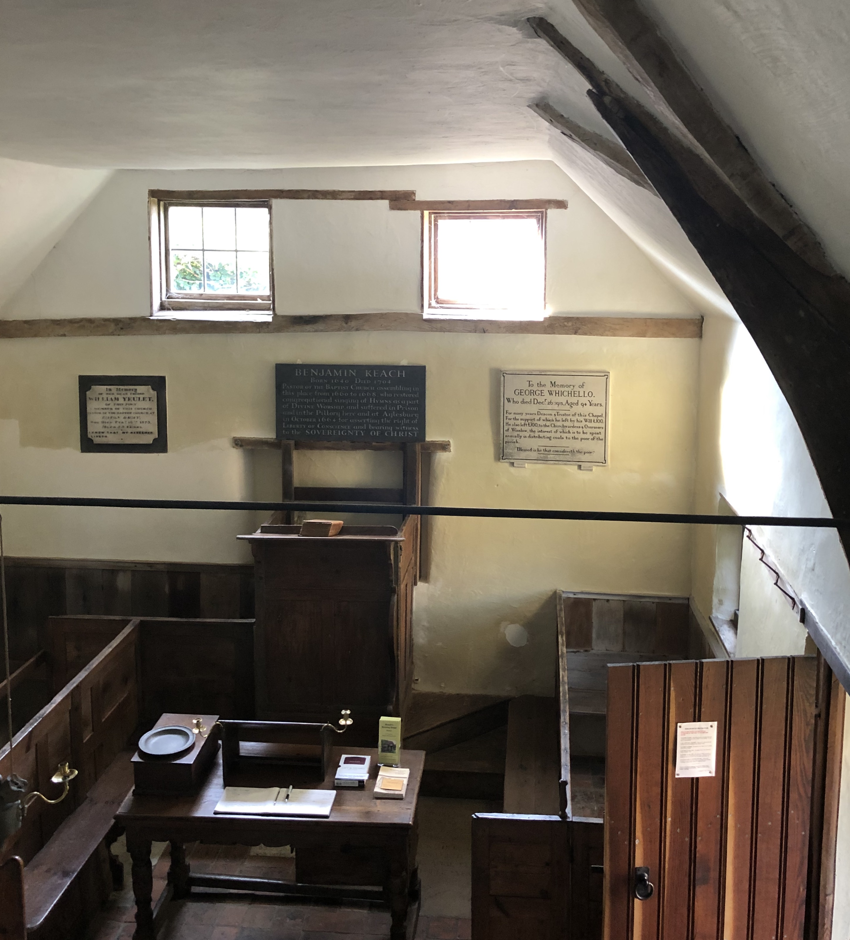 Keach's Meeting House Winslow