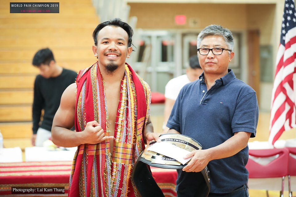 Tial Cung Thang Nih Middle Weight World Champion A Co - THE CHINLAND POST