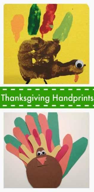 Thanksgiving Handprint Craft : The Chirping Moms