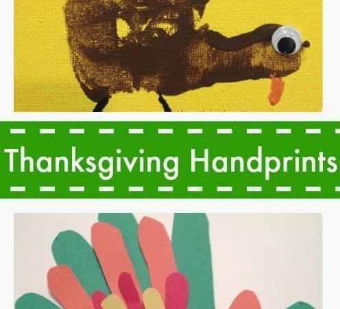 Thanksgiving Handprints