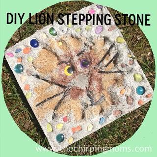diy stepping stone