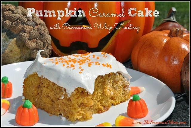 Guest Post:  Pumpkin Caramel Cake
