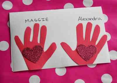 Valentine's Day Kid Craft : The Chirping Moms