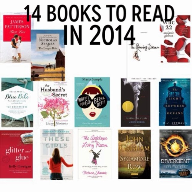 14 Books To Read in 2014 || The Chirping Moms