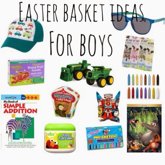 Easter Basket Fillers || The Chirping Moms