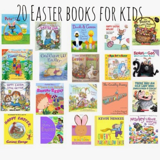 Easter Books for Kids || The Chirping Moms