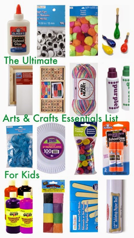 The Ultimate Arts Amp Crafts Essentials List The Chirping Moms