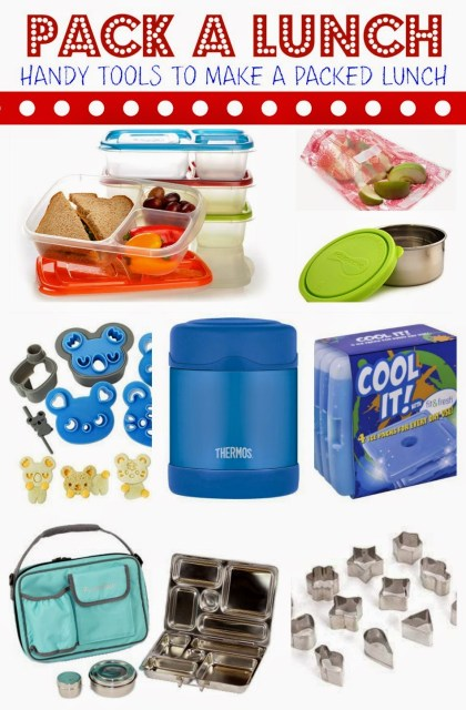 Lunchbox Tools to Make Packed Lunch