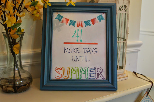 Countdown to Summer (Free Printables)