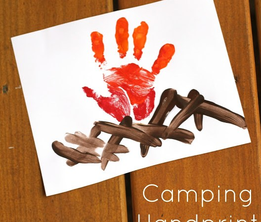 Tons of Fun Camping Themed Activities for Kids {With Free Printable}