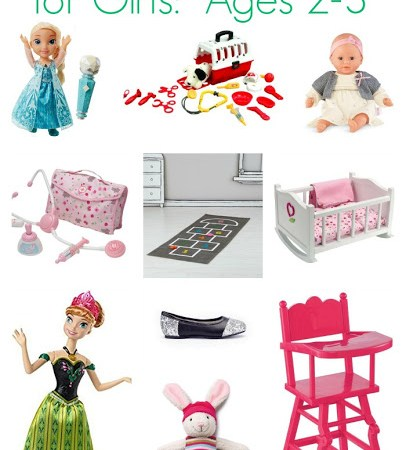Ultimate Gift Guide for Girls, Ages 2-3