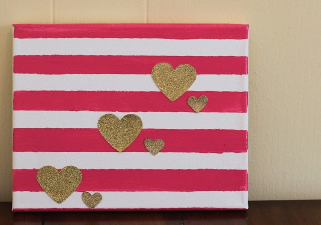 Easy DIY Valentine's Day Decor: 2 Ideas for a Valentine Canvas