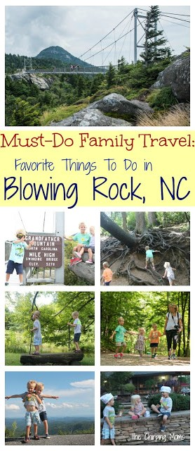 Family Travel: Blowing Rock, NC || The Chirping Moms