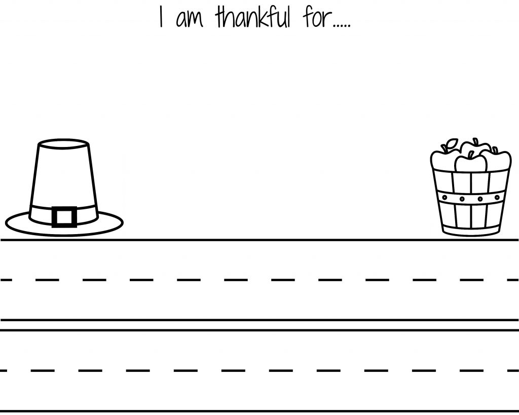 I Am Thankful For Free Printables