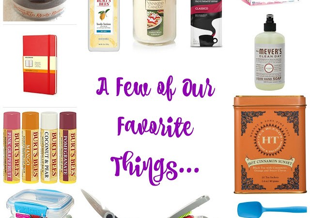 A List of Moms' Favorite Things…