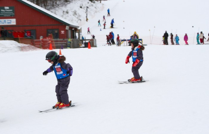 Learning to Ski at Mount Snow