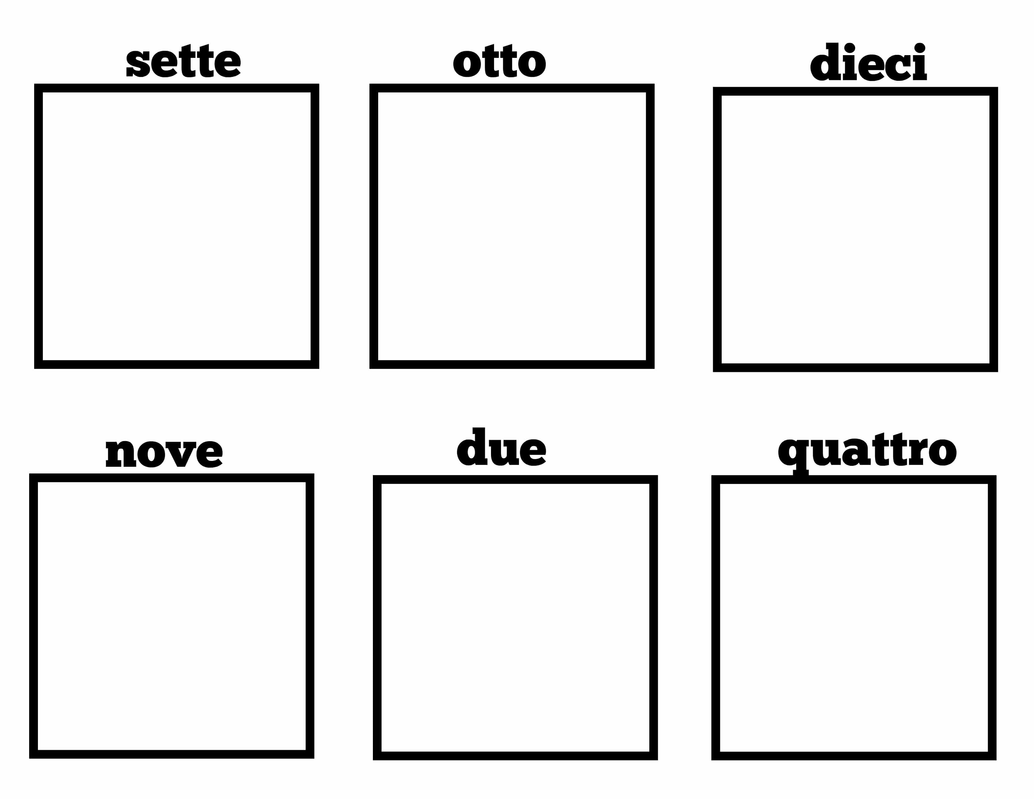 Simple Italian Lessons For Kids Numeri Counting In Italian