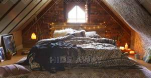 TheChrisandClaudeCo attic space styled by Urban Outfitters
