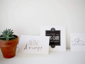 Slow Design- From the Home Office to our Company Logo
