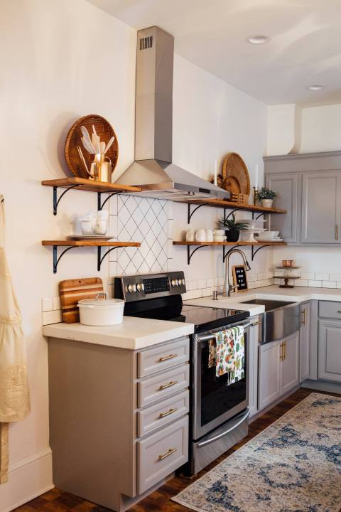Creative Calming Kitchen in Lancaster City