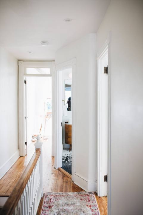 Hallway of Recently Redone Home