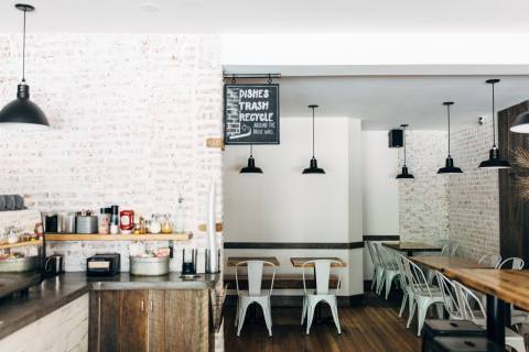 Cafe One Eight Seating
