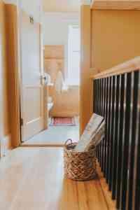 retro hallway design