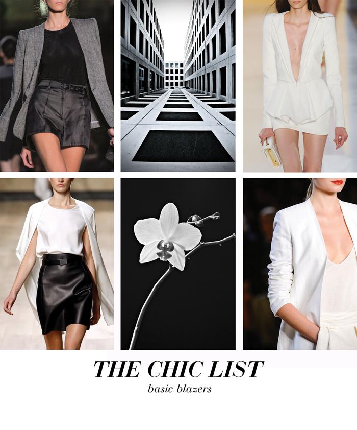 The Chic List -Basic Blazers