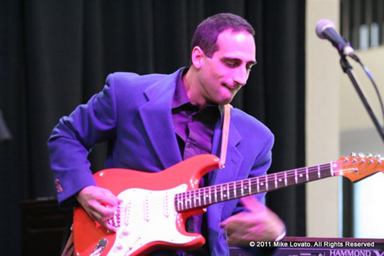 Chris Vitarello at the BMAs