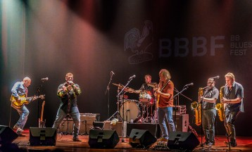 The Chris O'Leary Band in Spain 2018