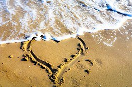 Heart In Sand 1