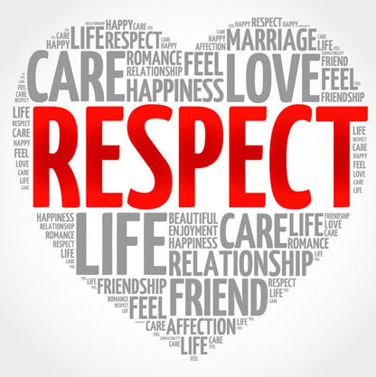 """January 24 Monthly Study: """"Respect"""" 7:30 – 9:00 a.m."""