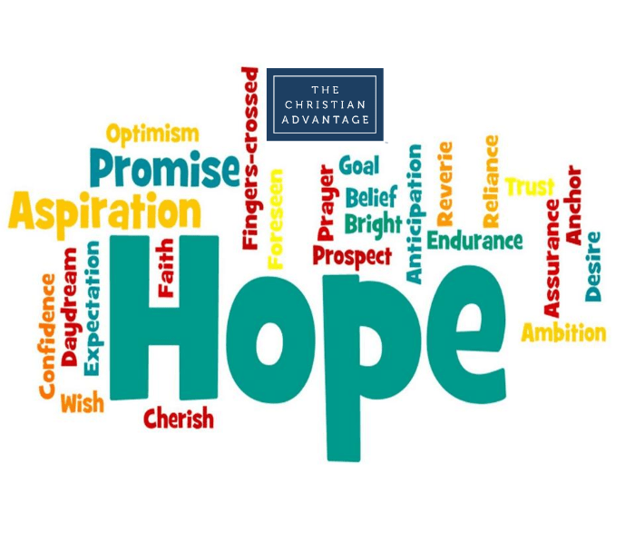 """September 25 Monthly Study: """"HOPE"""" 12:00 – 1:30 p.m."""