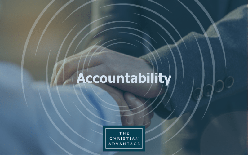 "April 16 Monthly Study in New Albany: ""Accountability"" 7:30 – 9:00 a.m."