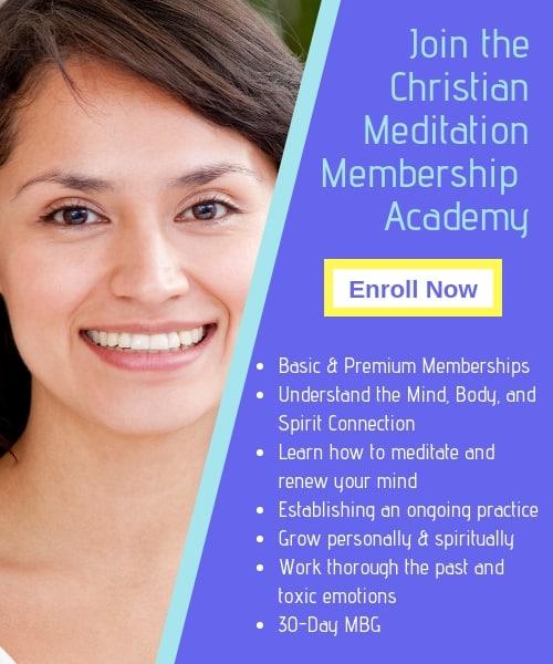 Christian meditation academy