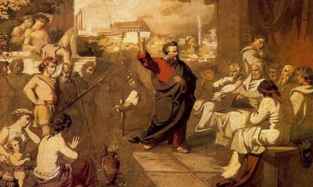 Saint Paul at the Meeting of Athens and Jerusalem