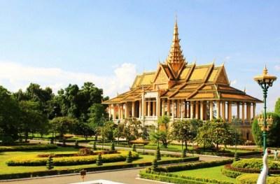 Chanchhaya Pavilion in the King's Palace, Phnom Penh, Cambodia