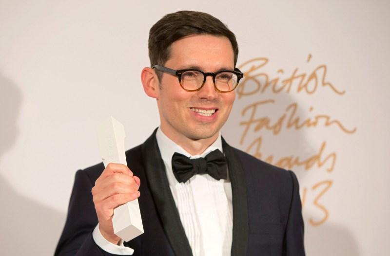 Erdem Moralioglu British Fashion Award