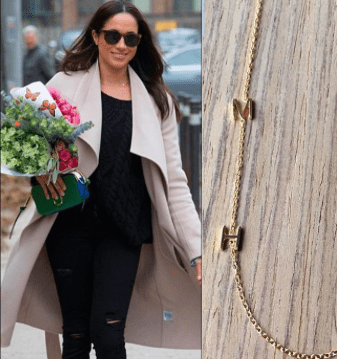 Meghan Markle and the Right Hand Gal necklace