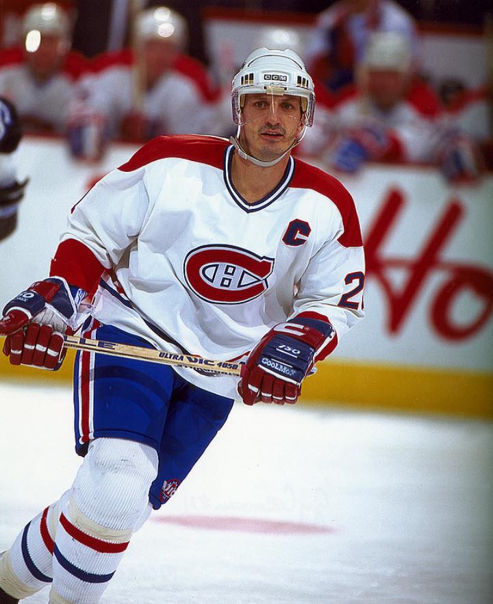 Guy Carbonneau Canadiens de Montréal