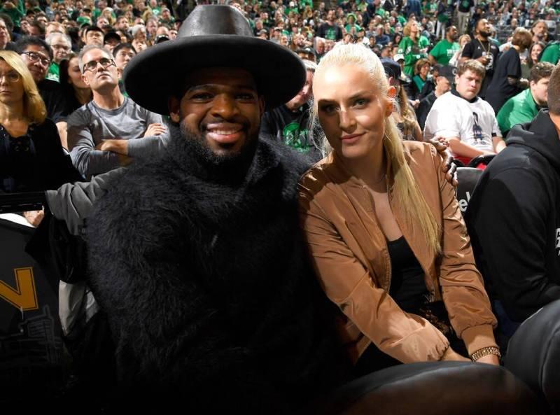 PK and Lindsay