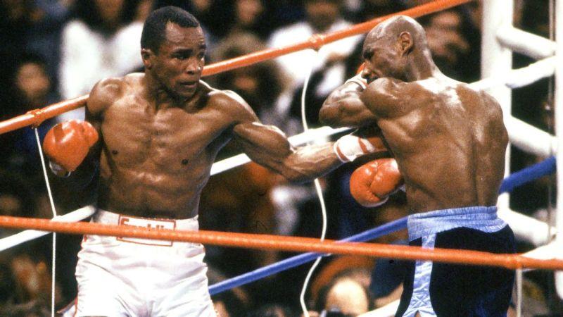 Leonard vs Hagler