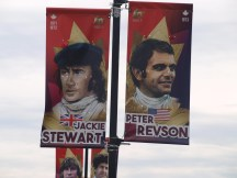 Jackie Stewart and Peter Revson