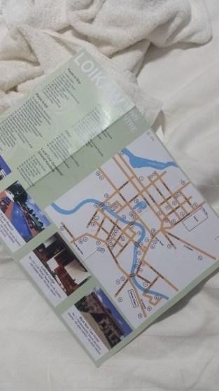 the rare tourist road map